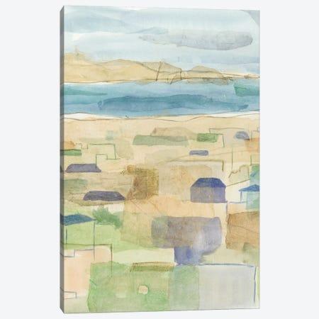 Mediterranean Coast I Canvas Print #MEA44} by Megan Meagher Canvas Wall Art