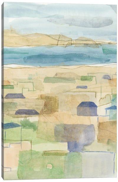 Mediterranean Coast I Canvas Art Print