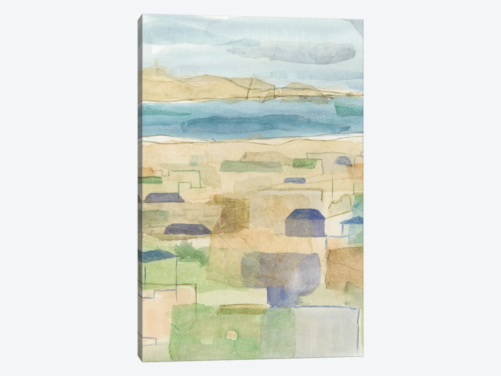 Mediterranean Coast I by Megan Meagher 1-piece Canvas Artwork