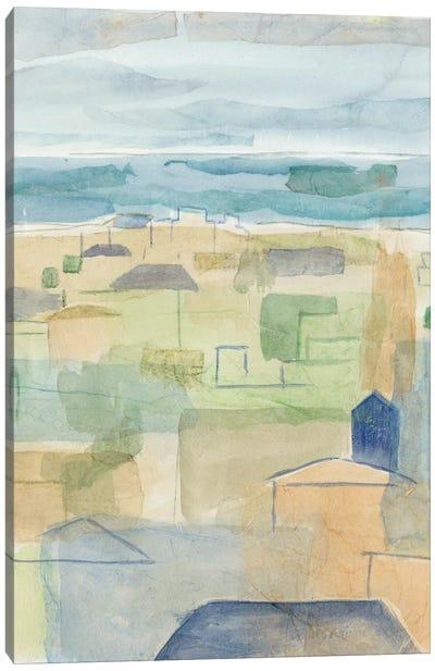 Mediterranean Coast II Canvas Art Print