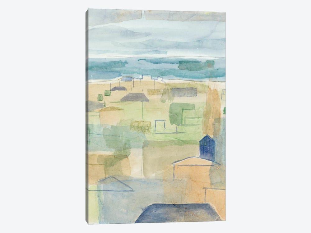 Mediterranean Coast II by Megan Meagher 1-piece Canvas Print