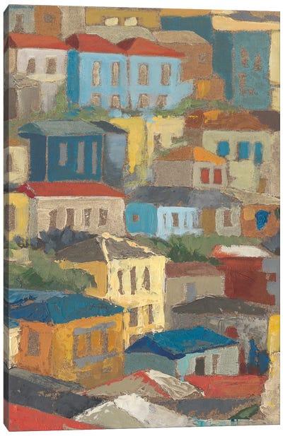 Primary Rooftops II Canvas Art Print