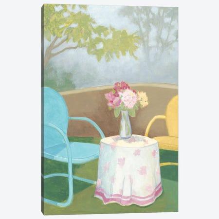 Garden Conversation I Canvas Print #MEA50} by Megan Meagher Canvas Artwork