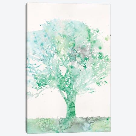 Aquamarine Tree II Canvas Print #MEA55} by Megan Meagher Canvas Print