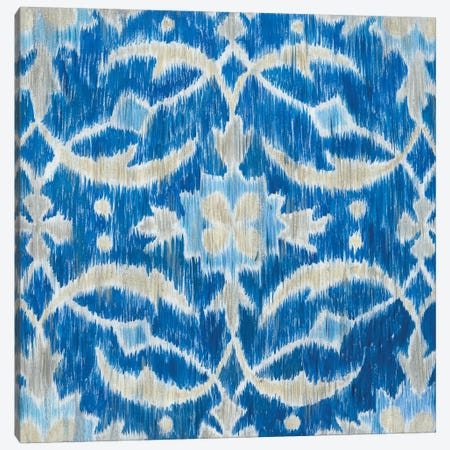 Royal Ikat I Canvas Print #MEA7} by Megan Meagher Canvas Art Print