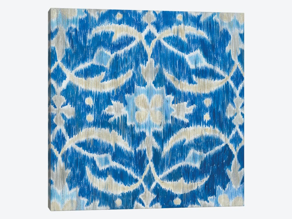 Royal Ikat I by Megan Meagher 1-piece Canvas Artwork