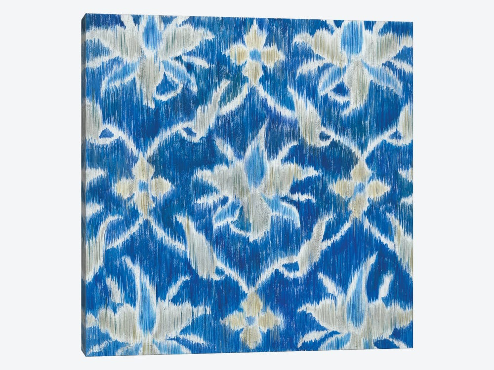 Royal Ikat II by Megan Meagher 1-piece Canvas Print