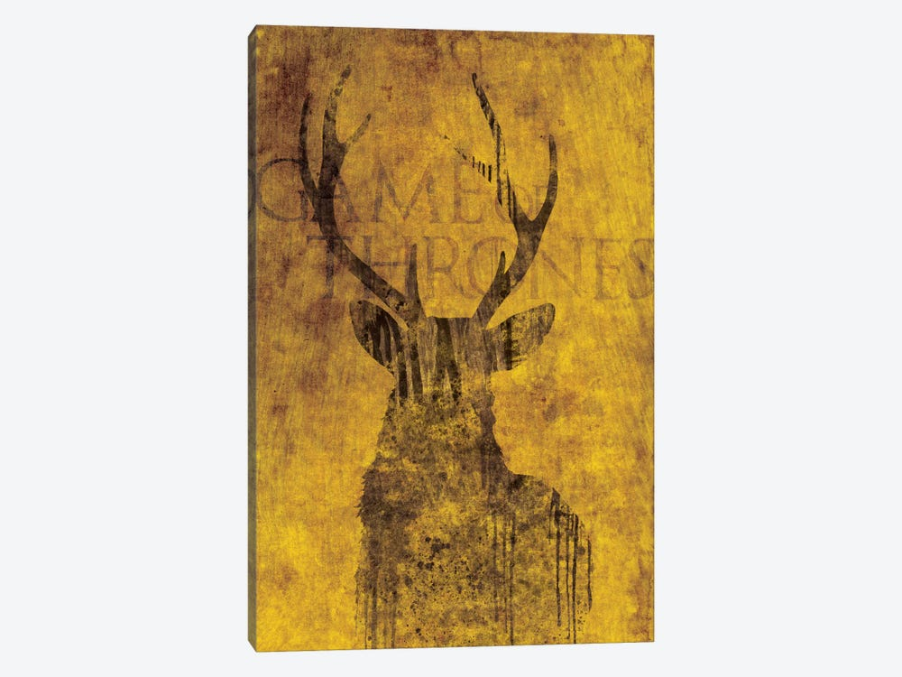 House Baratheon by 5by5collective 1-piece Art Print