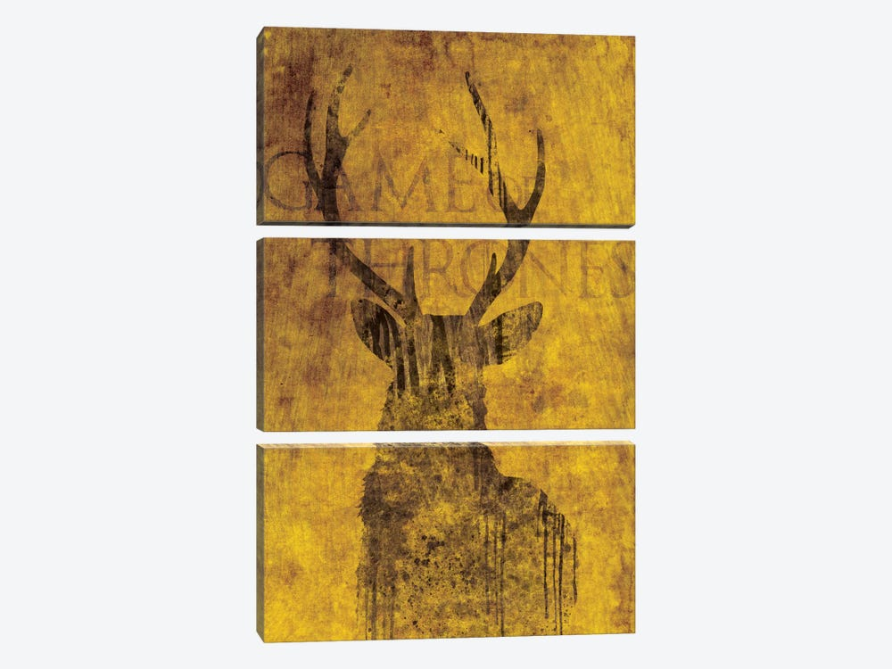House Baratheon by 5by5collective 3-piece Art Print