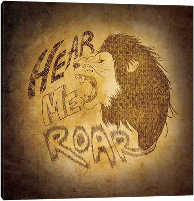 House Lannister - Hear Me Roar Canvas Print #MEB6