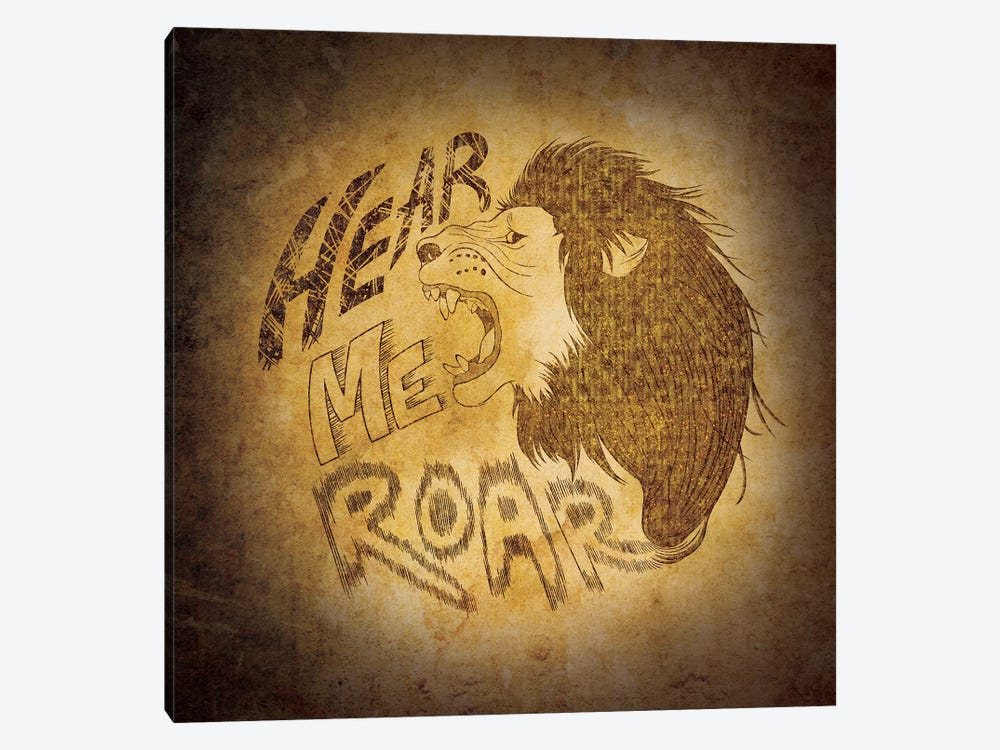 House Lannister - Hear Me Roar by 5by5collective 1-piece Canvas Art
