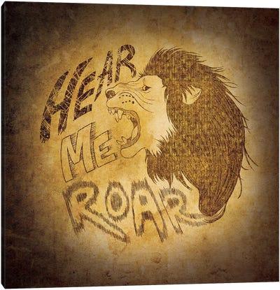 House Lannister - Hear Me Roar Canvas Art Print