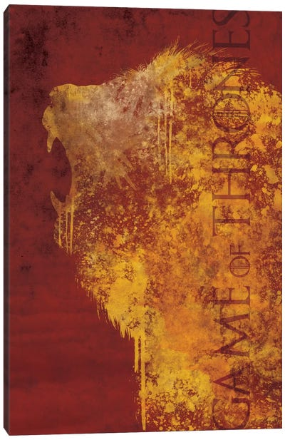 House Lannister Canvas Art Print