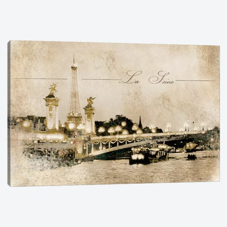 Le Pont Alexandre Canvas Print #MEC104} by Marie Elaine Cusson Canvas Art Print