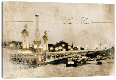 Le Pont Alexandre Canvas Art Print