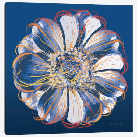 Flower Pop Pastel I Canvas Print #MEC115} by Marie Elaine Cusson Canvas Artwork