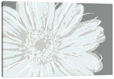 Flower Pop Sketch III-Greys Canvas Art Print