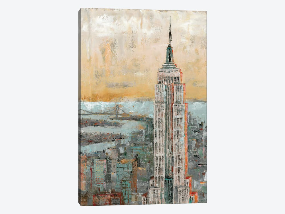 Empire State Building Abstract by Marie Elaine Cusson 1-piece Art Print