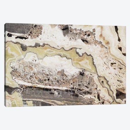 Marble Colors Brown VII Canvas Print #MEC155} by Marie Elaine Cusson Canvas Artwork