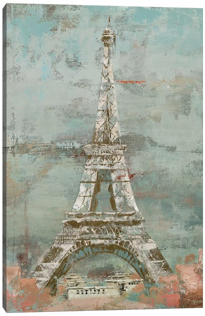 La Tour Eiffel Canvas Art Print