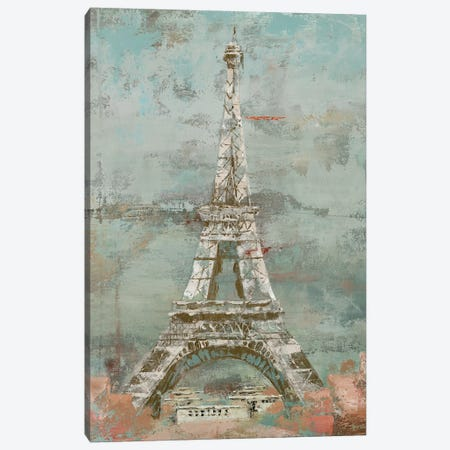 La Tour Eiffel Canvas Print #MEC16} by Marie Elaine Cusson Canvas Art Print
