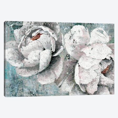 Lush Garden Canvas Print #MEC18} by Marie Elaine Cusson Canvas Artwork