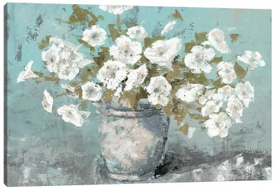 Morning Blossom Still Life Canvas Art Print
