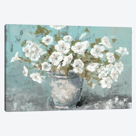 Morning Blossom Still Life Canvas Print #MEC19} by Marie Elaine Cusson Canvas Artwork