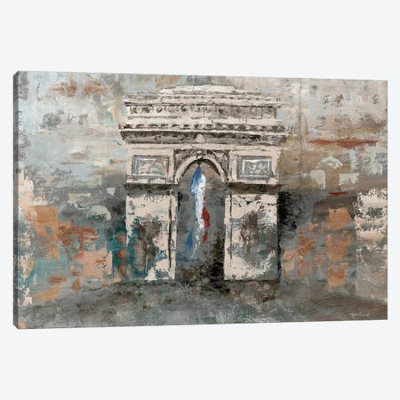Arc de Triomphe Canvas Print #MEC1} by Marie-Elaine Cusson Canvas Artwork