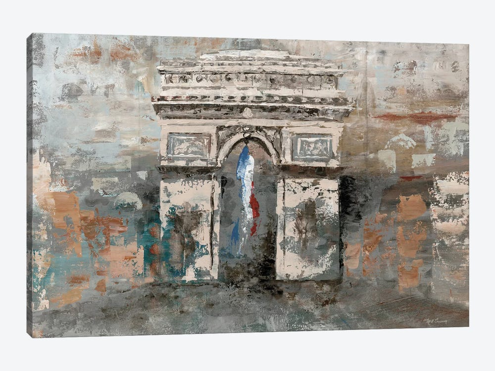 Arc de Triomphe by Marie-Elaine Cusson 1-piece Canvas Artwork