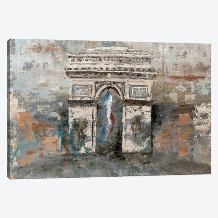 Arc de Triomphe Canvas Print #MEC1} by Marie Elaine Cusson Canvas Artwork