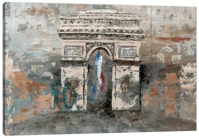Arc de Triomphe Canvas Art Print