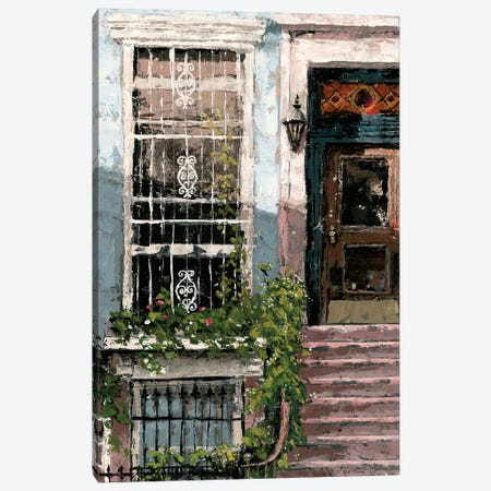New York Neighborhood I Canvas Print #MEC20} by Marie Elaine Cusson Art Print