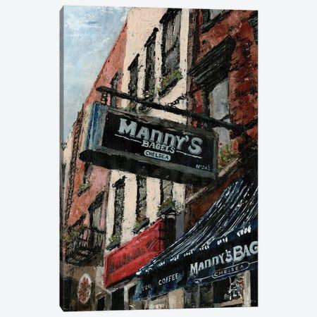 New York Neighborhood II 3-Piece Canvas #MEC21} by Marie Elaine Cusson Canvas Art Print