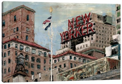 New Yorker Canvas Art Print