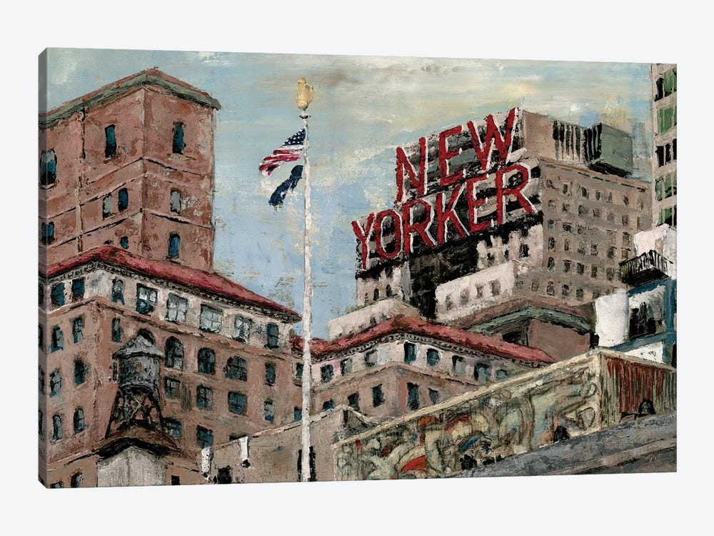New Yorker by Marie Elaine Cusson 1-piece Art Print