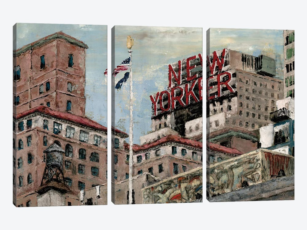 New Yorker by Marie Elaine Cusson 3-piece Art Print