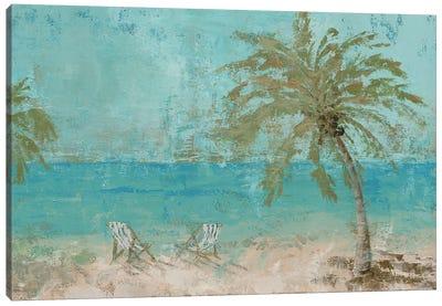 Beach Day Landscape I Canvas Art Print