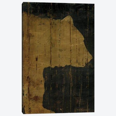 Rustic Lodge Animals Bear Canvas Print #MEC38} by Marie Elaine Cusson Canvas Art