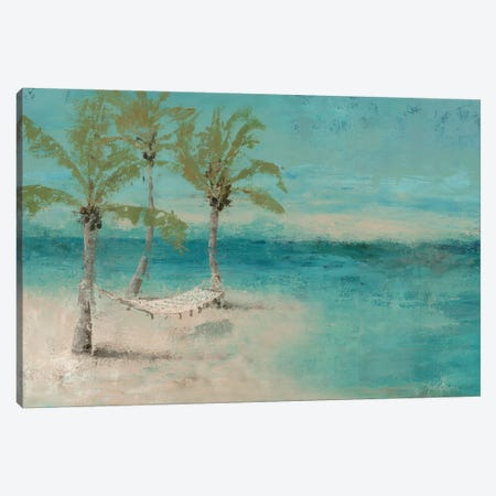 Beach Day Landscape II Canvas Print #MEC3} by Marie-Elaine Cusson Canvas Artwork