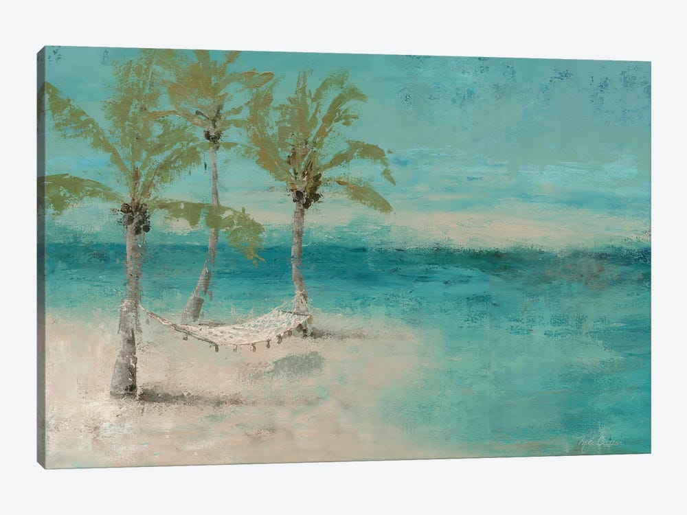 Beach Day Landscape II by Marie Elaine Cusson 1-piece Canvas Wall Art