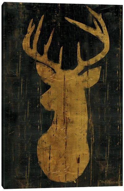 Rustic Lodge Animals Deer Head Canvas Art Print