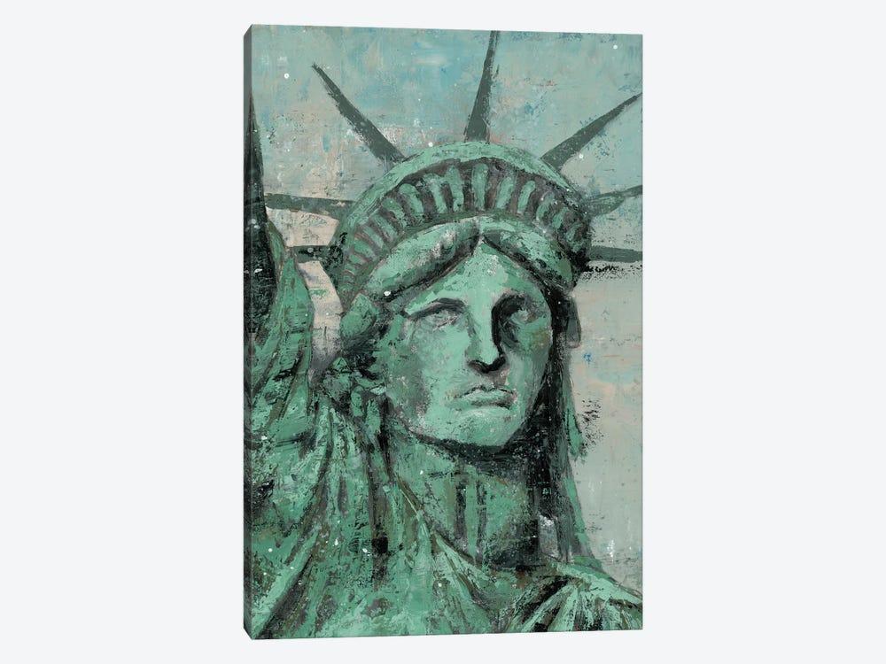 Statue Of Liberty Portrait by Marie Elaine Cusson 1-piece Art Print