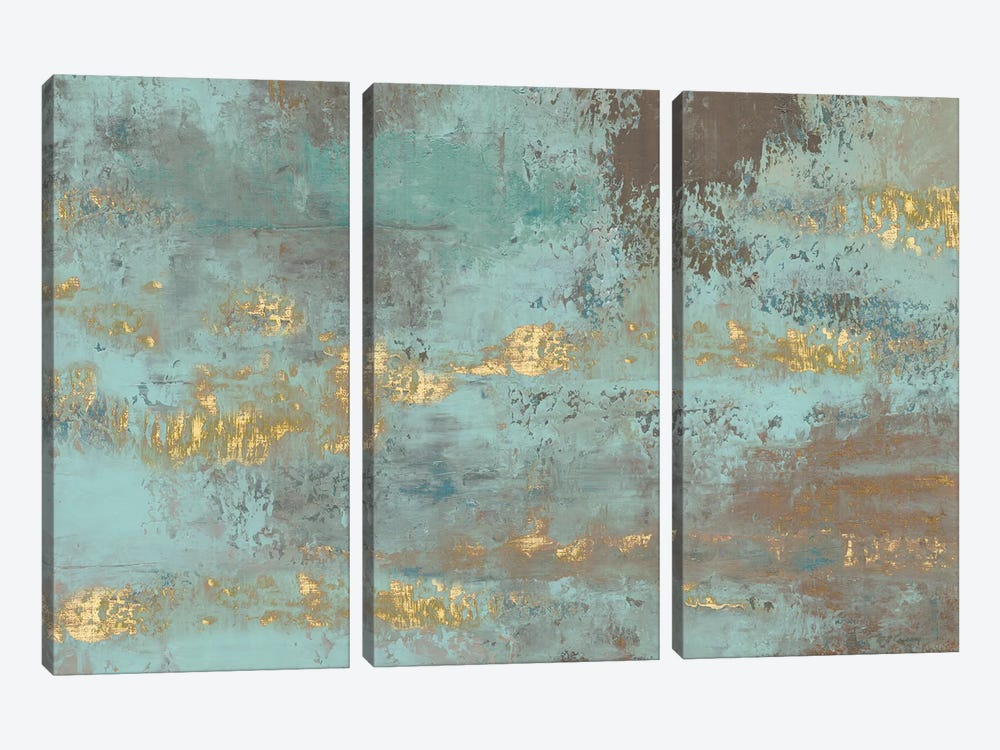 Blooming Day by Marie Elaine Cusson 3-piece Canvas Art Print
