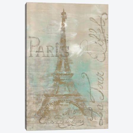 Champs de Mars Canvas Print #MEC57} by Marie Elaine Cusson Canvas Art Print