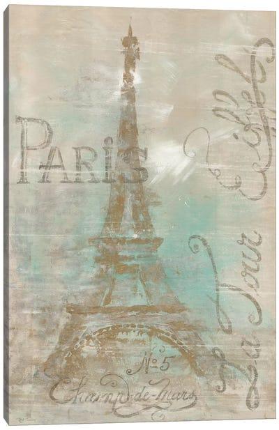 Champs de Mars Canvas Art Print