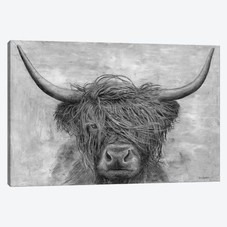 Norwegian Bison Canvas Print #MEC60} by Marie Elaine Cusson Canvas Print