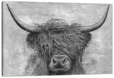 Norwegian Bison Canvas Art Print