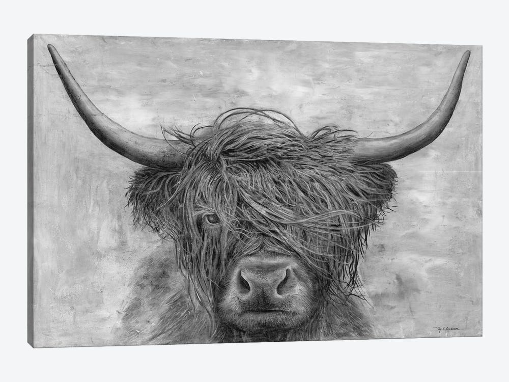 Norwegian Bison by Marie Elaine Cusson 1-piece Canvas Art Print