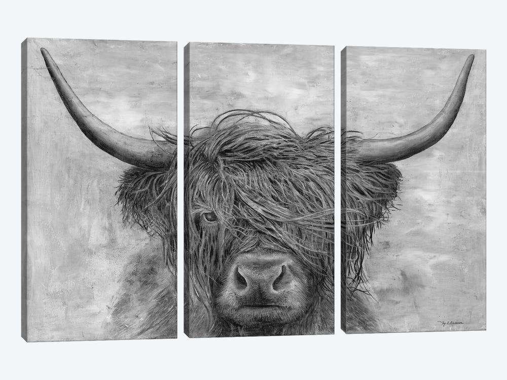 Norwegian Bison by Marie Elaine Cusson 3-piece Canvas Print